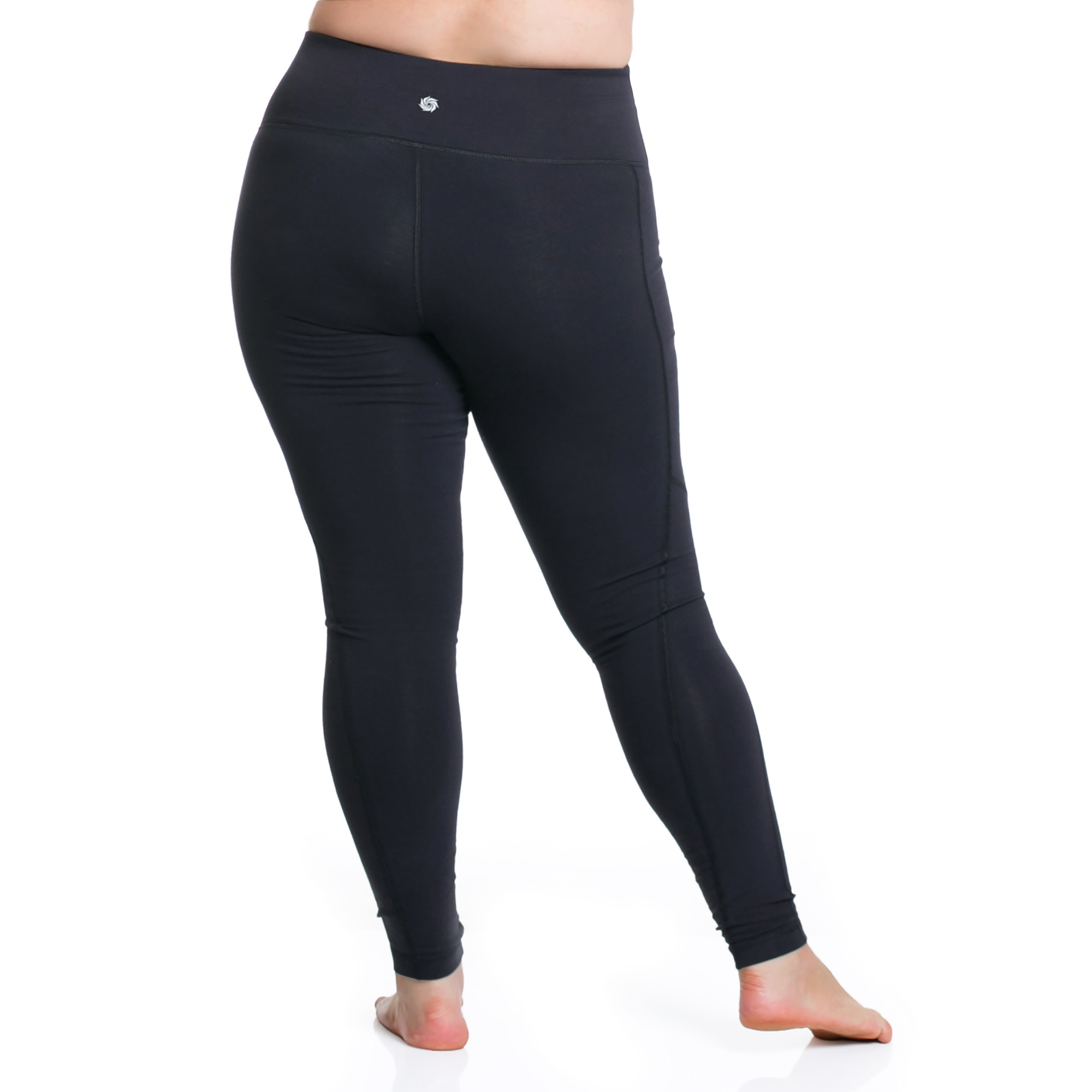 f9d43a929dc9f Curve Basix Compression Legging - Black - Plus Size Active